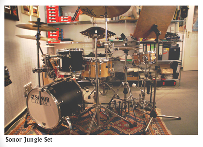 Sonor Jungle Set (Oktober 2007)