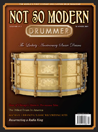 Not so modern drummer, USA