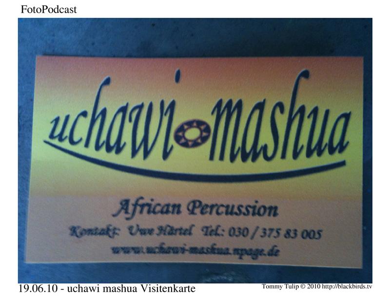 Visitenkarte uchawi mashua