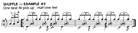 Rosanna - Shuffle (Schlagzeugnoten)