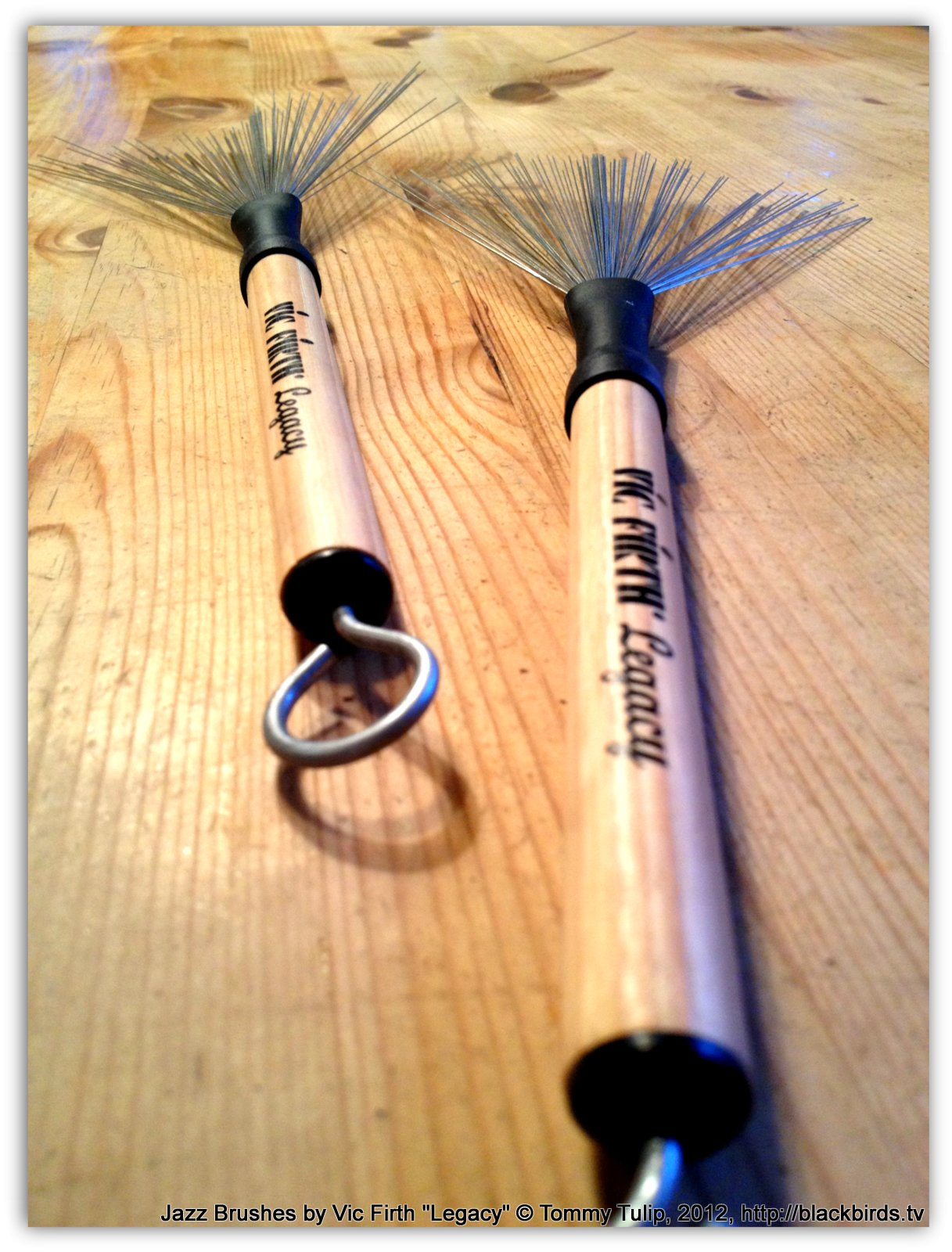"""Jazz Brushes by Vic Firth """"Legacy"""""""