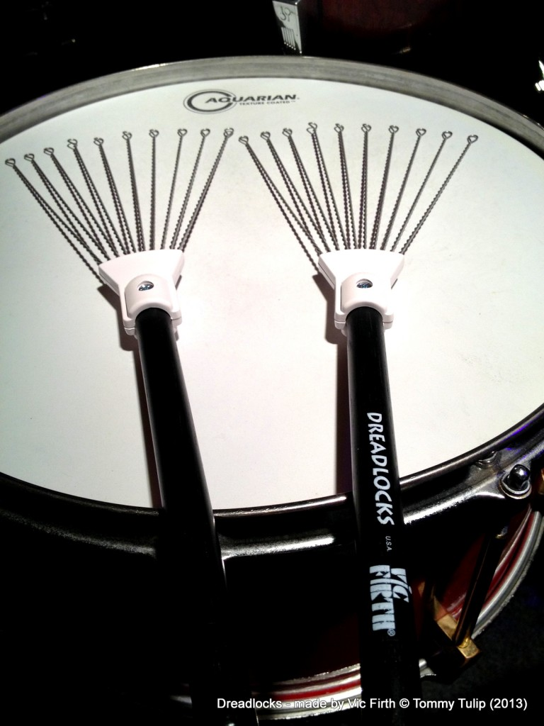 Dreadlocks - made by Vic Firth