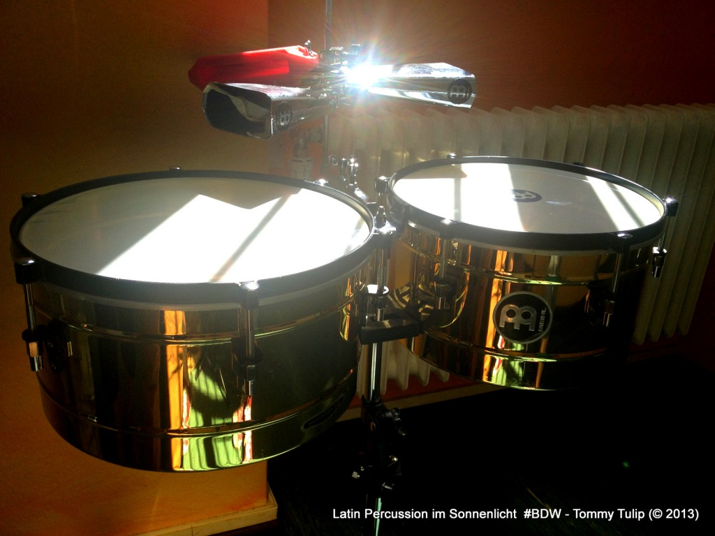 Latin Percussion im Sonnenlicht #BDW