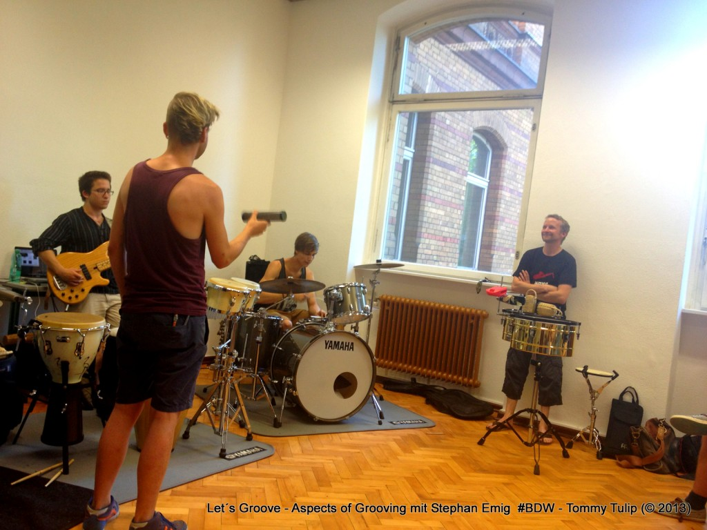 Let´s Groove - Aspects of Grooving mit Stephan Emig