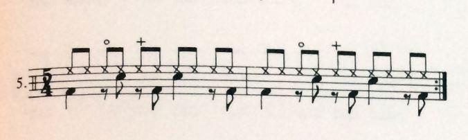 "Aus ""Even In the Odds"" - Ralph Humphrey (5/4-tel)"