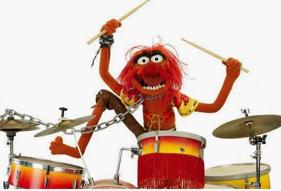 Animal-on-the-drums