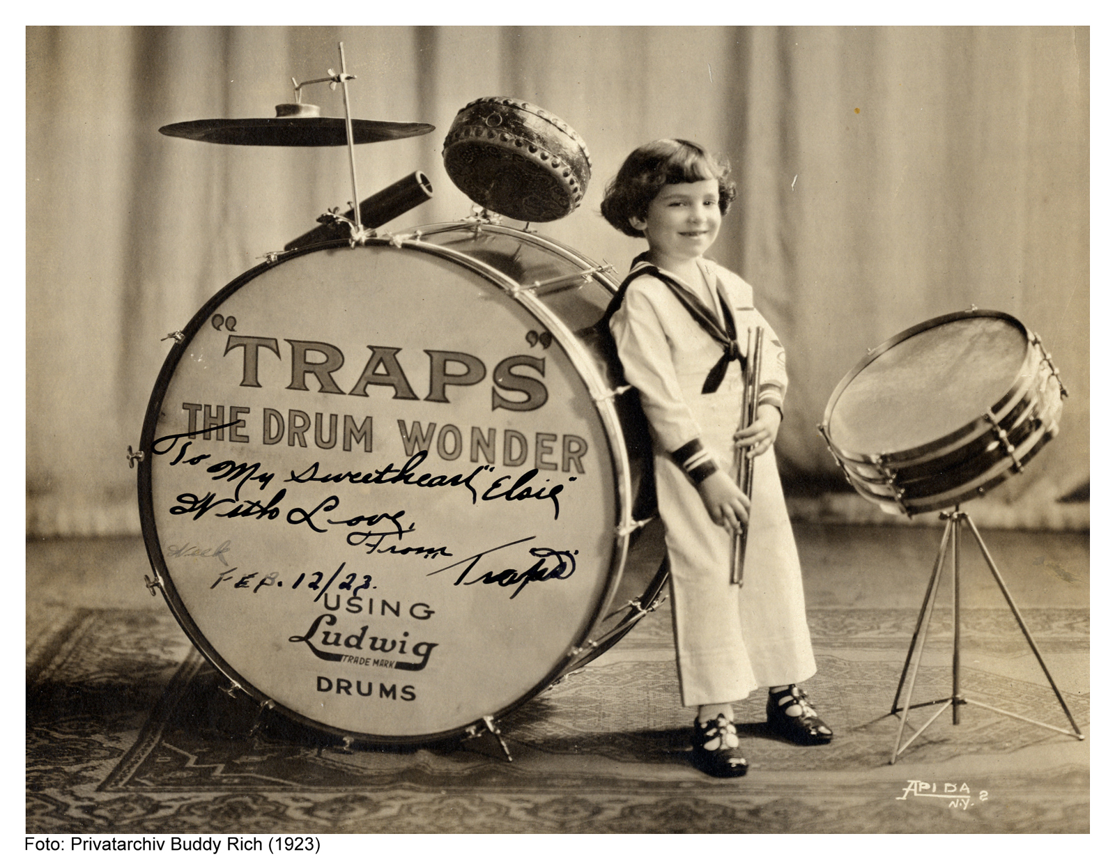 "Buddy Rich (1923) ""Traps, The Drum Wonder"""