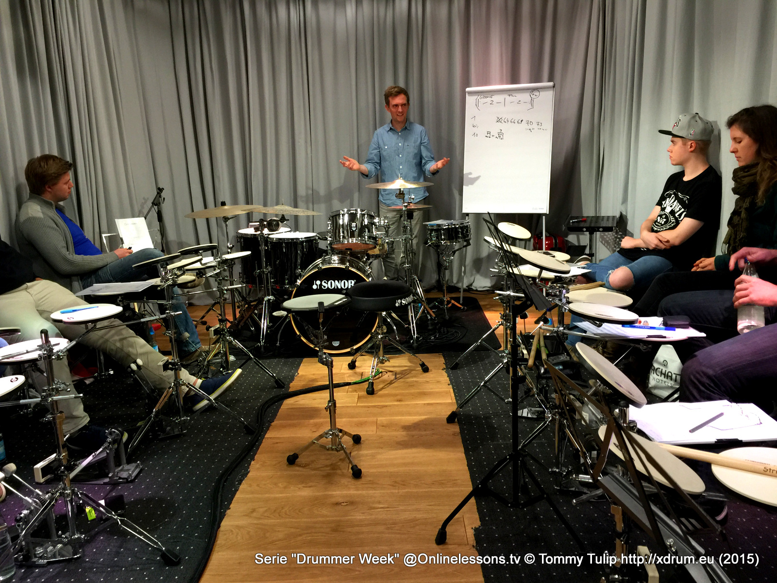 Jost Nickel - Drummer Week 10.15 Onlinelessons.tv