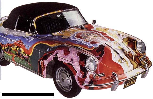 Janis Joplin - Porsche Cabriolet