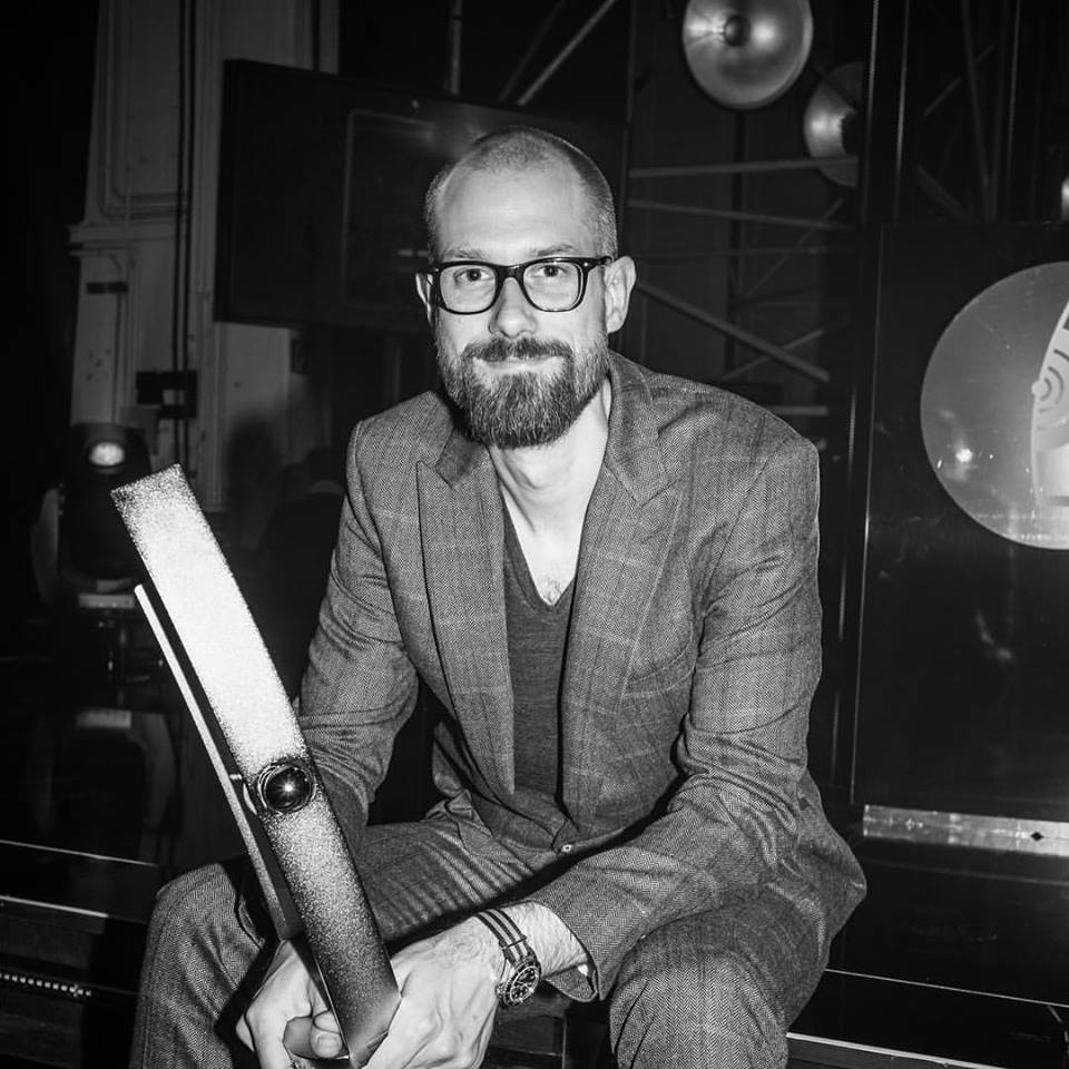 Benny Greb, Jazz Echo 2016 (Foto: Benny Greb, Privatarchiv)
