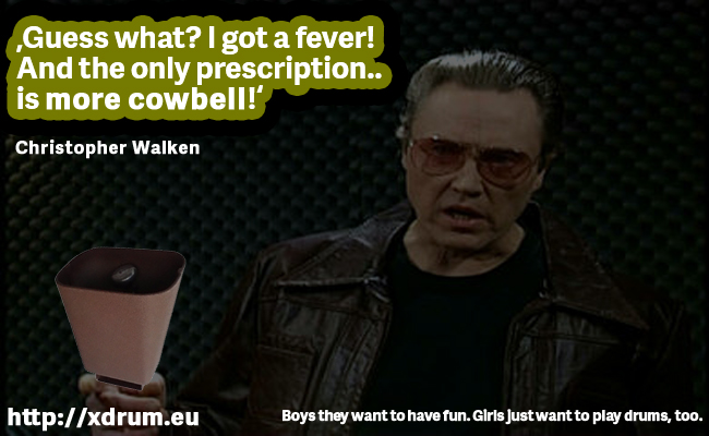 More Cowbell (Banner)