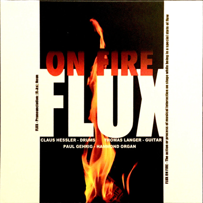 "CD Cover ""Flux On Fire"""