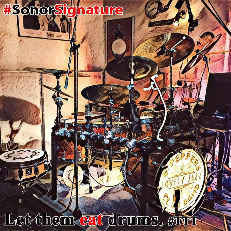 Sonor Signature Banner - Let Them Eat Drums #TTT