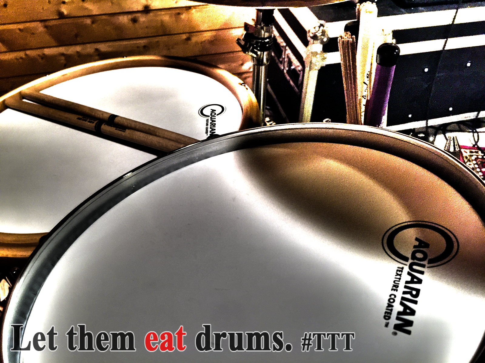 Let them eat Drums #Tama