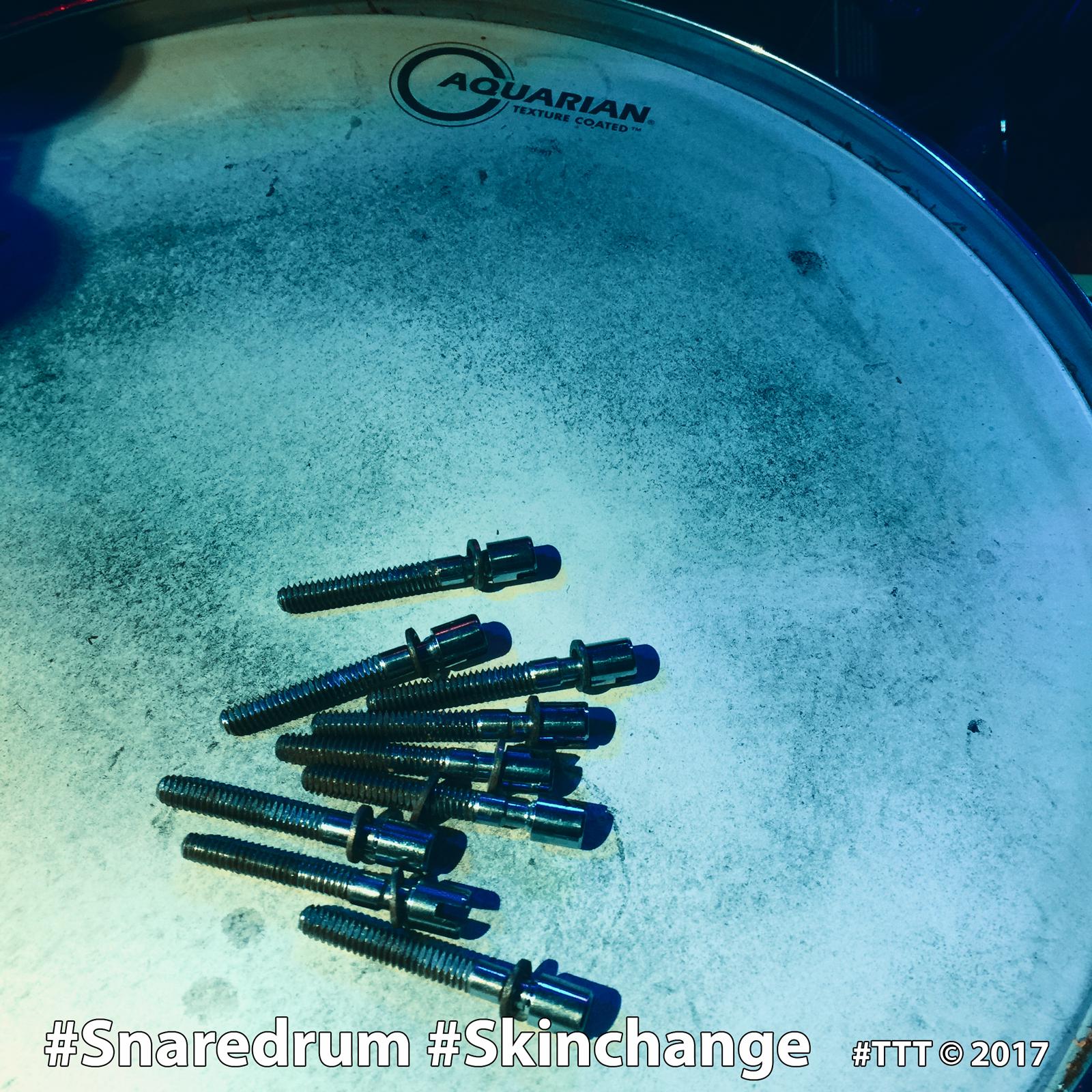 #Snaredrum #SonorSignature #Skinchance #Aquarian #TTT © 2017