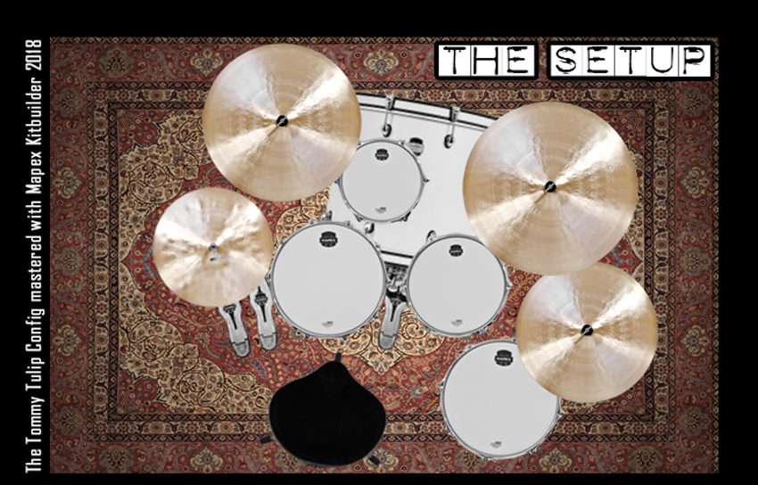 The Setup - performed with The Mapex Kitbuilder - Config Tommy Tulip