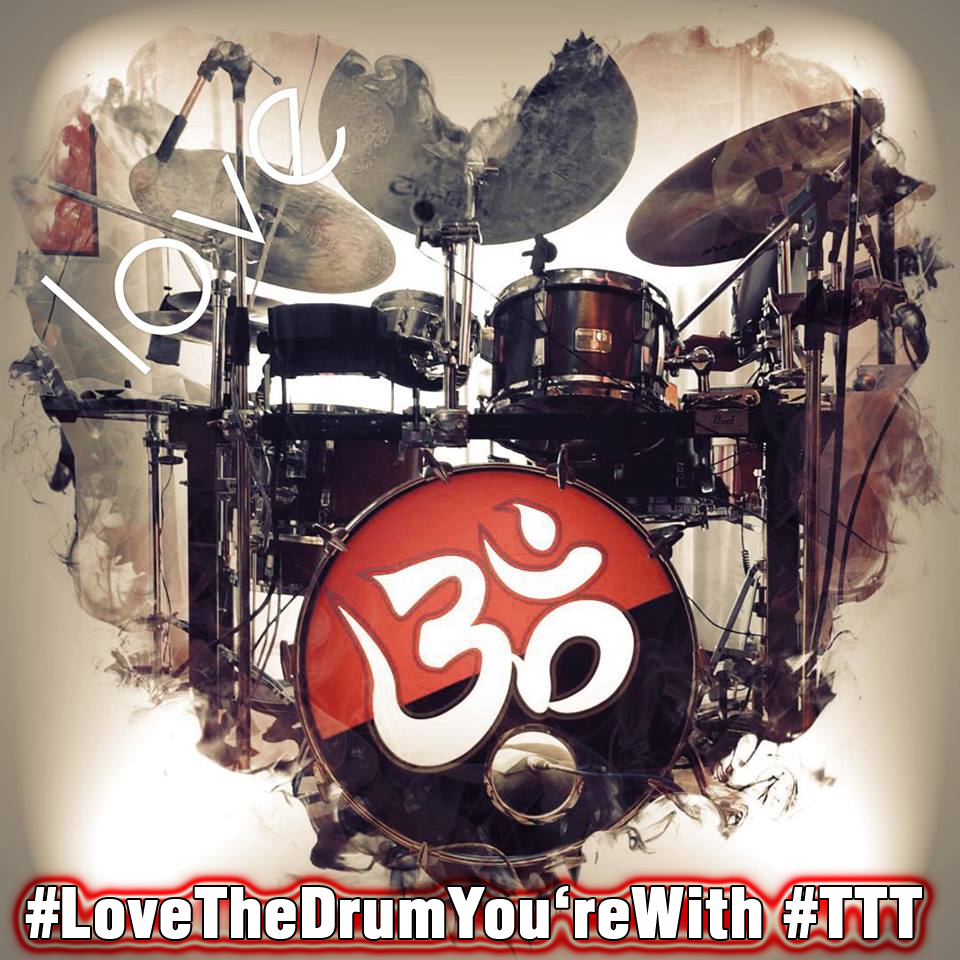 Love The Drum You're With - Banner