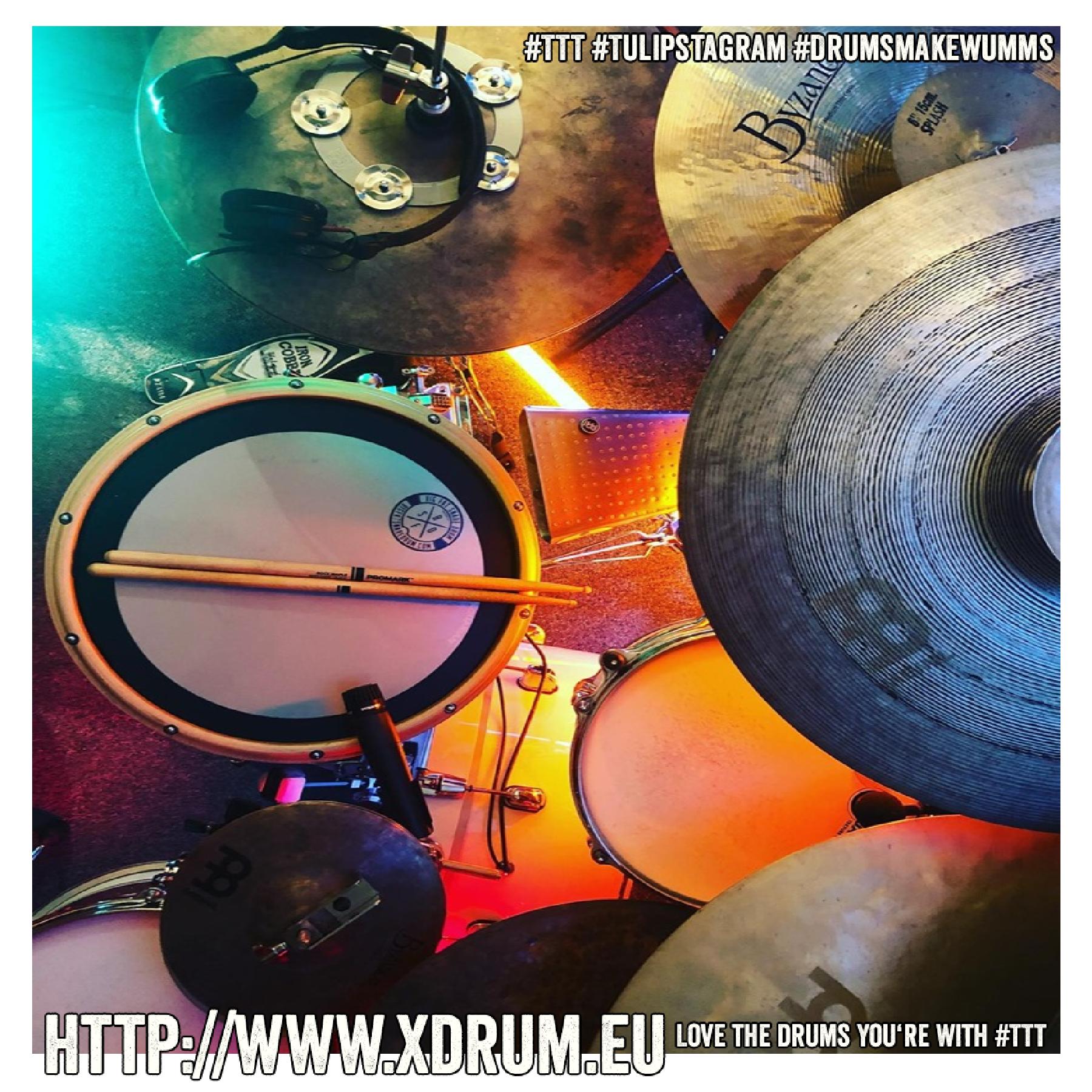 #Tama #Starclassicbubinga #IronCobra #MeinlCymbals #ByzanceSeries #Sandhats #CrasherHats #Promark #LPpercussion #TTT #Tulipstagram #DrumsmakeWumms