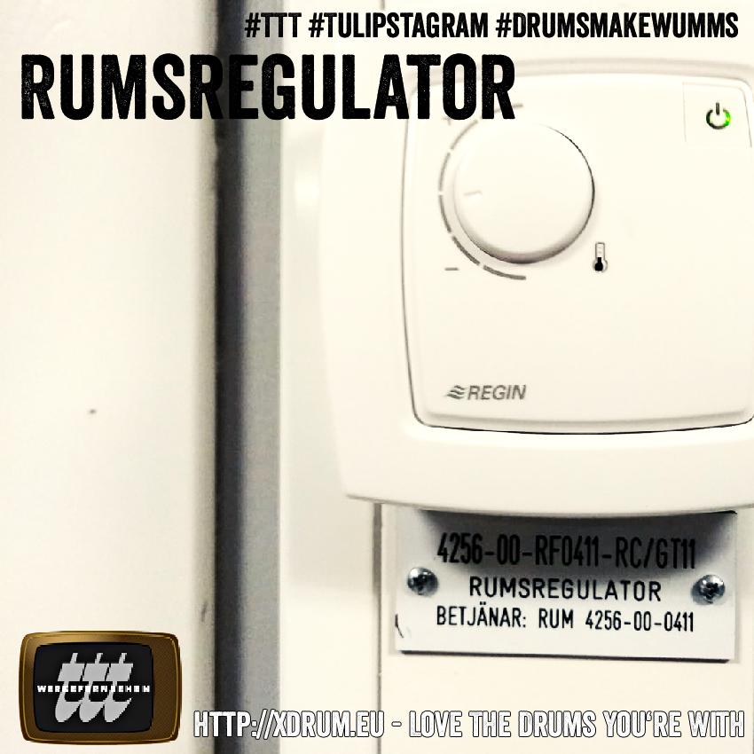 Rumsregulator #TTT #Tulipstagram #DrumsmakeWumms