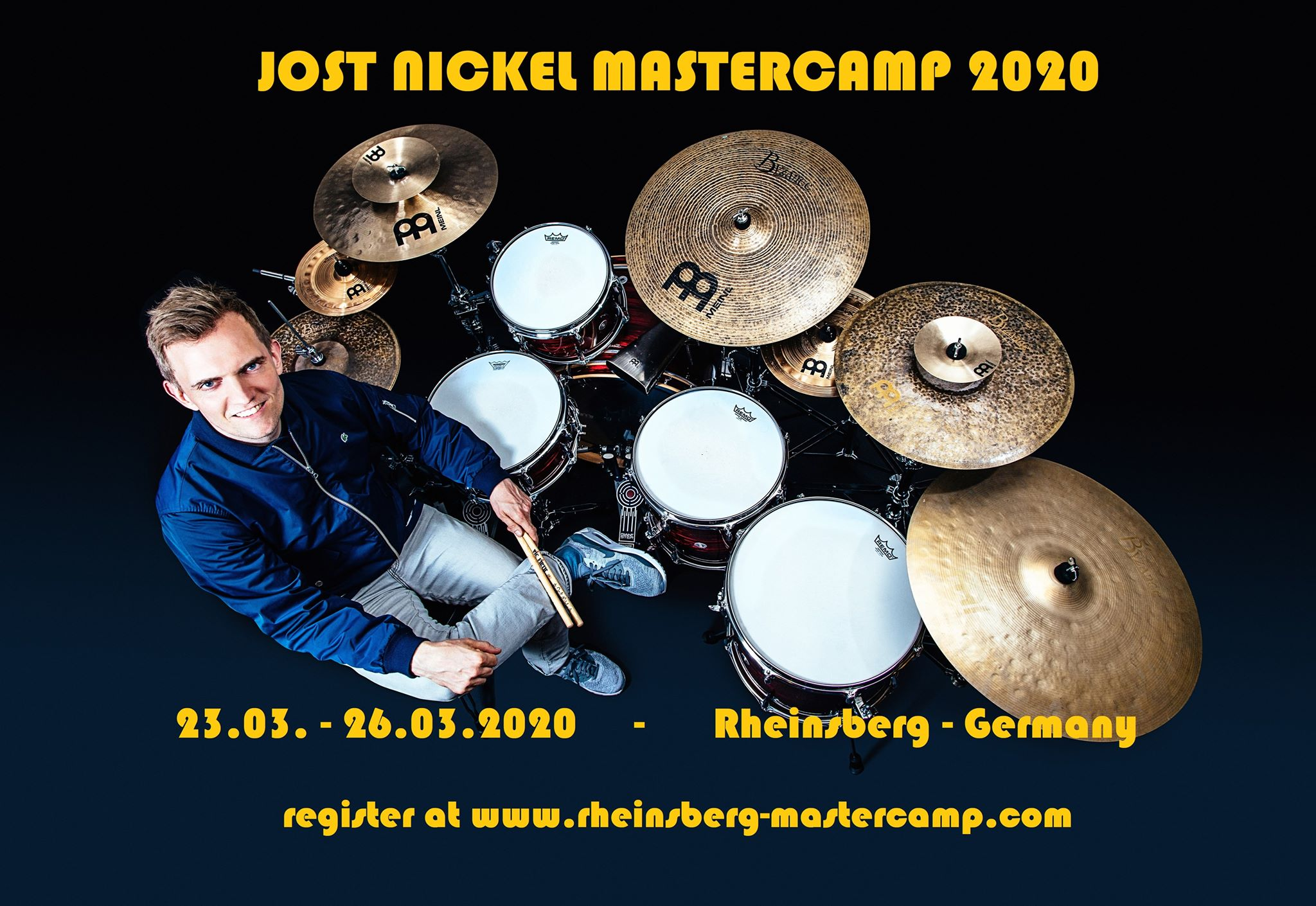 Jost Nickel - 23.03. - 26.03.2020 #Rheinsberg #Mastercamp