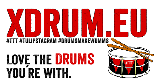 Love the drums You´re with. https://xdrum.eu - #TTT #Tulipstagram