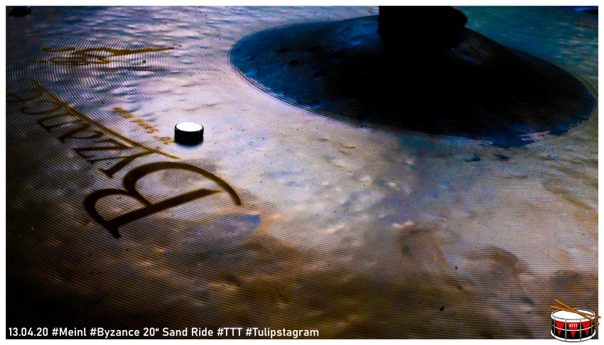 """13.04.20 #Meinl #Byzance 20"""" Sand Ride #TTT #Tulipstagram"""