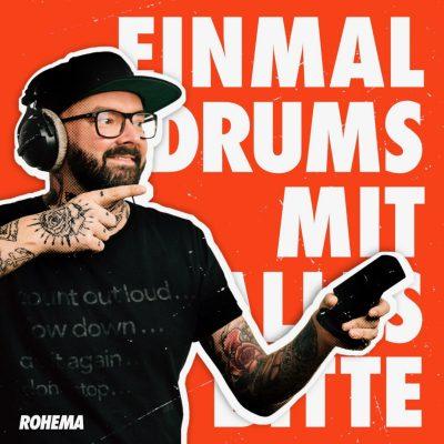Einmal DRUMS mit Alles bitte.... Logo: Philip BO Borgmann/Rohema #Sinnbild