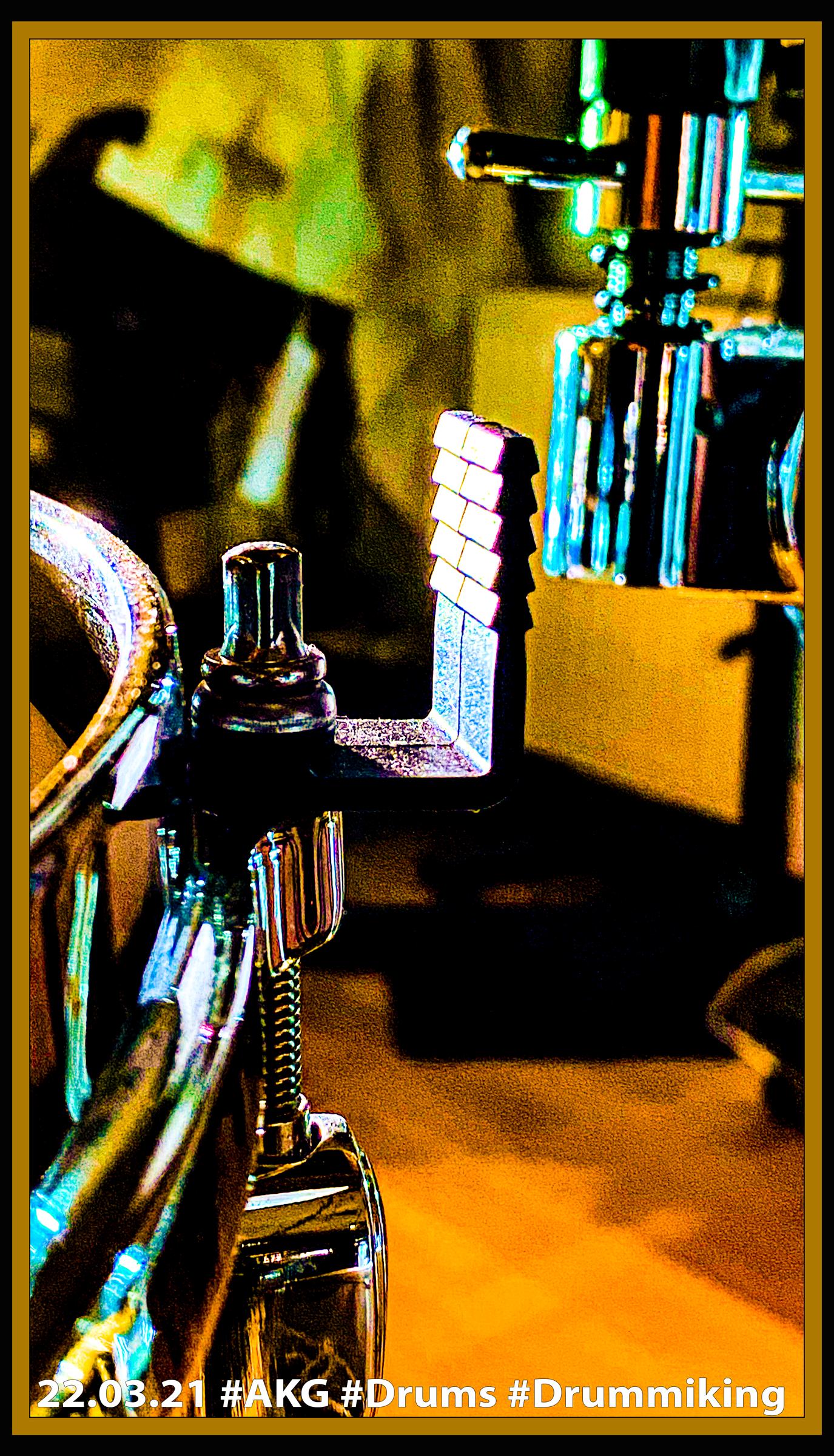 22.03.21 Befestigungswinkel an Snareschraube #AKG 'Drums #Drummiking #Ersatzteile