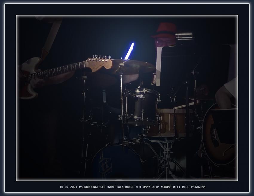 10.07.2021 #SonorJungleSet #ArtStalkerBerlin #TommyTulip #Drums #TTT #Tulipstagram 1200 X 925 Pixel